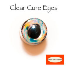 Clear Cure Dumbbell Eyes